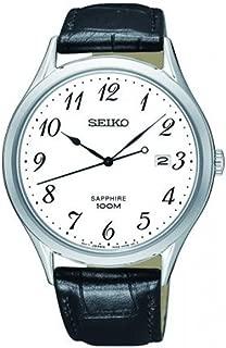 Seiko Sapphire White Dial Mens Watch SGEH75P1