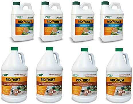 Pro Products Latest item Rid O' Rust Stain Pack Prevention 8 and Cleaner Bo Very popular