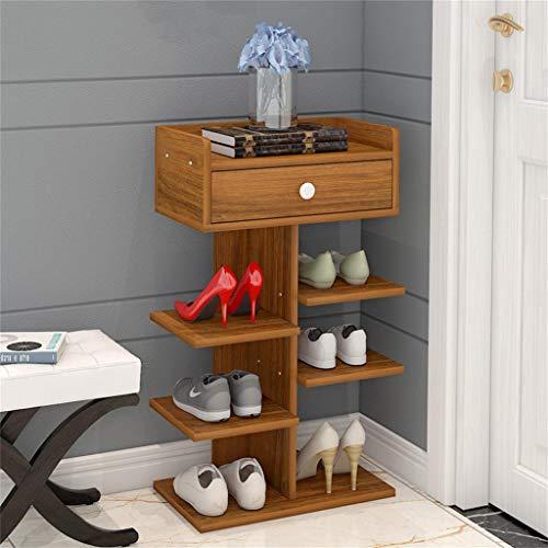 GWF Armario para Zapatos/gabinete de Calzado Armario de Almacenamiento para el hogar Simple y Multicapa Gabinete para el Porche Armario Multifuncional para almacenar Muebles Estante para Zapatos peq