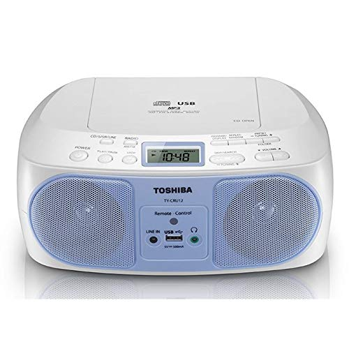 Toshiba Portable CD/USB/AM/FM Radio (TY-CRU12 White)