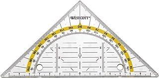 Westcott E-10139 00 Géométrique Perforé Transparent 14 cm