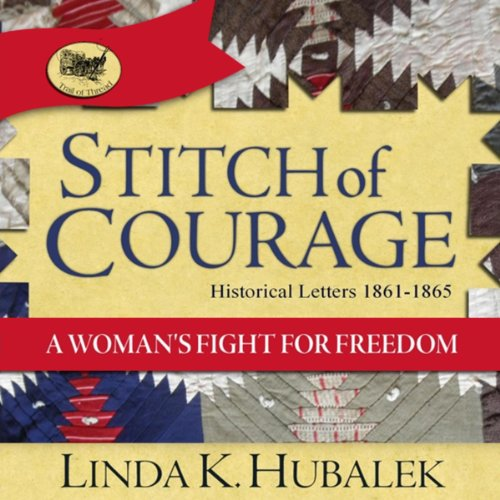Stitch of Courage: A Woman's Fight for Freedom audiobook cover art