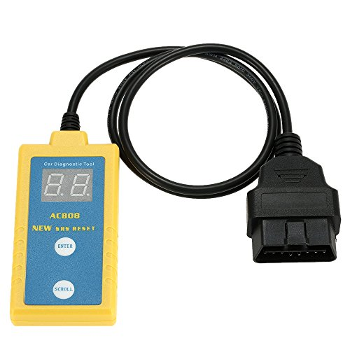 KKmoon AC808 Auto Car Airbag Diagnostic Scan Tool Code Reader Scanner Read and Clear SRS Trouble Codes for BMW