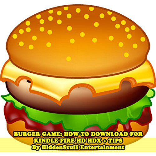 Burger Game audiobook cover art