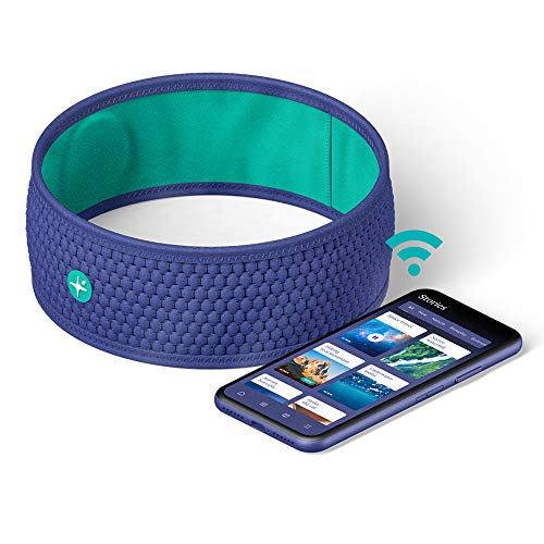 HoomBand Wireless | Bluetooth Innovative Headband for Sleep, Travel, Meditation | Charging Cable Included & Free Access to Hypnotic Stories Created by Sleep Experts (Size S)