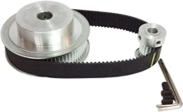 BEMONOC HTD 3M Timing Belt Pulley 4:1 72 Teeth and 18 Teeth Shaft Center Distance 90mm Engraving Machine Accessories - Belt Gear Kit