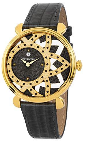 Reichenbach Reloj de Cuarzo Woman Baack Negro 38 mm