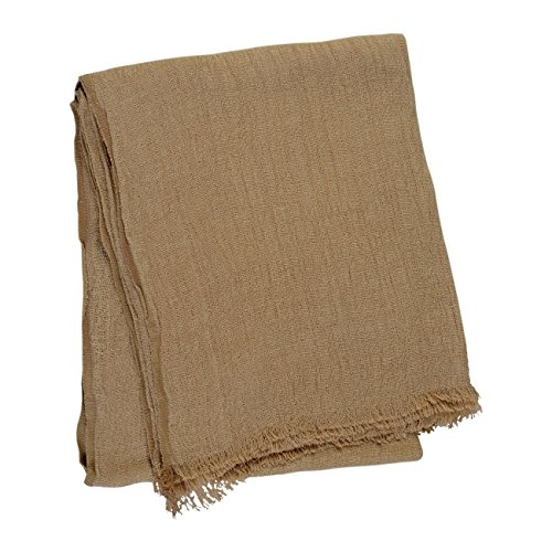 Linum POMEZIA Decke 130x170 Camel Brown