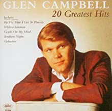 glen campbell 20 greatest hits cd