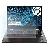 Bruni Schutzfolie kompatibel mit Lenovo ThinkPad L13 Yoga Folie, glasklare Bildschirmschutzfolie (2X)