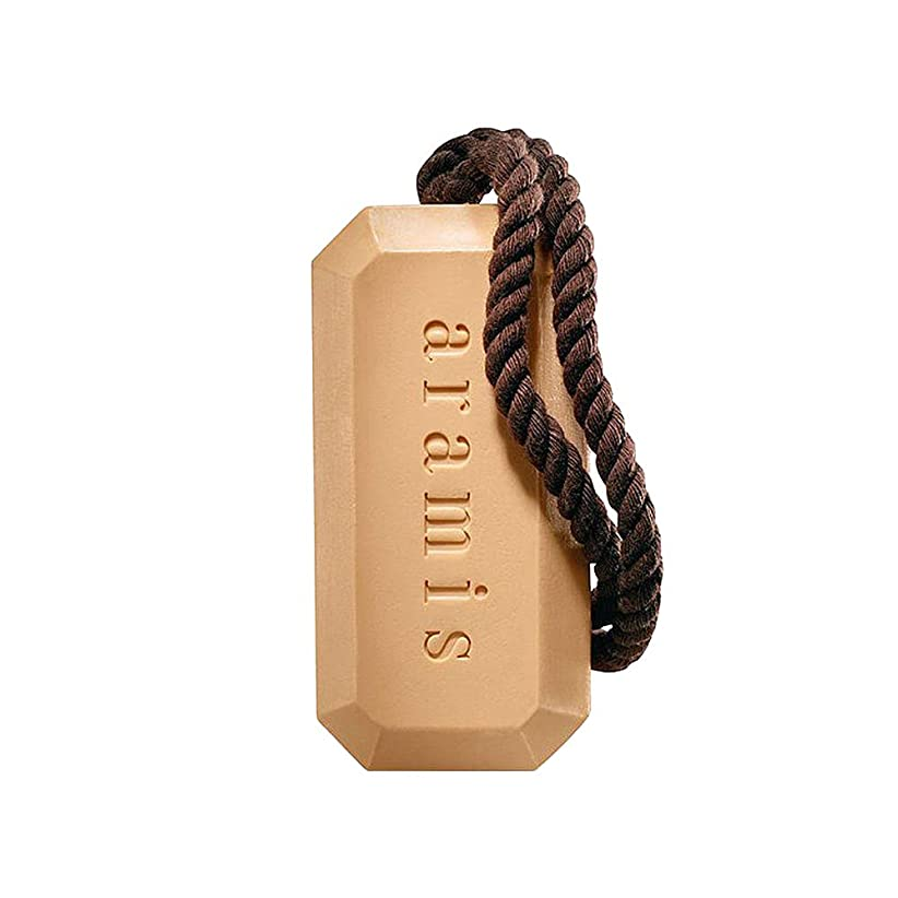 プット聴覚障害者どうしたのアラミス ロープ付き バスソープ (化粧石けん) 石鹸 アラミスの香り 163g