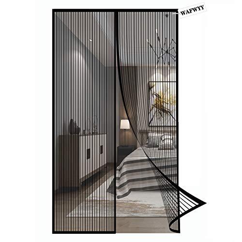 Magnet Fliegengitter Tür Insektenschutz,Magnetisches Moskitonetz,Automatisches Schließen,für Balkontür und Terrassentür.