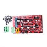 ANGEEK Placa de controlador de impresora 3D para Ramps 1.4 RepRap Mendel Prusa Arduino