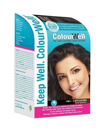 ColourWell 100% natürliche Haarfarbe Mild Schwarz