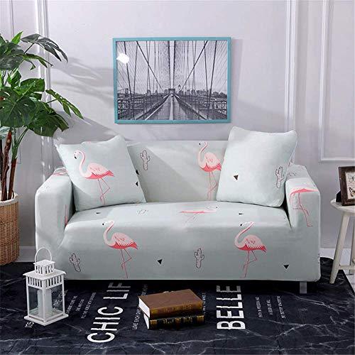 empty kleed, elastisch, van polyester, voor woonkamer, flamingo, roze