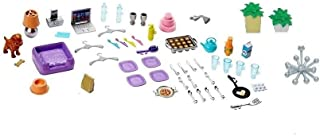 Barbie Dream House Replacement Accessories (Cups, Plates, Food)