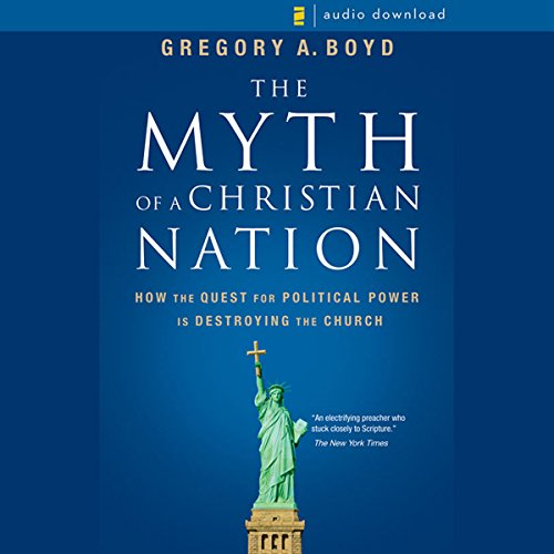 Myth of a Christian Nation audiobook cover art
