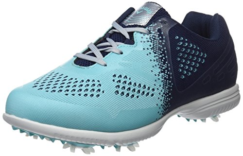 Callaway Women's Halo Tour Golf Shoes, Blue, 38.5 EU 5.5 UK