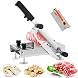 BAOSHISHAN Frozen Meat Slicer Manual Meat Slicers Stainless Steel Ginseng Cutter for Home Use Beef...