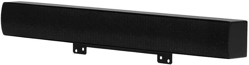 SunBriteTV All-Weather 20 WATT Sound Bar for 43-Inch Signature Outdoor TV - SB-SP472-BL Black