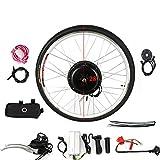 Kaibrite Kit de conversión de rueda trasera de 28 pulgadas, 36 V, 500 W