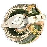 sourcingmap Vassoio in ceramica reostato resistore variabile a filo avvolto 100W 10 Ohm