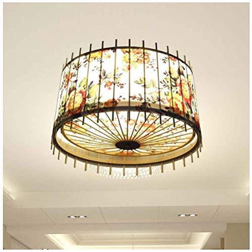 Lámpara de Araña Lámpara Colgante Japonesa Lámpara de Tatami Iluminación de Restaurante Dormitorio Sala de Estar Y Lámpara de Habitación Lámparas Tradicionales Japonesas Y Lámparas Simples Lámpara de