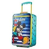 American Tourister Kids' Disney Softside Upright Luggage, Mickey Mouse...