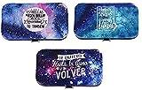 Lote de 8 Sets de Manicura'Galaxia'. Belleza y Complementos. Regalos Originales para Niños y Niñas. Detalles para Comuniones, Cumpleaños, Bautizos y Bodas.