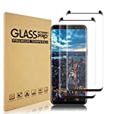 Samsung Galaxy S9 Screen Protector [2-Pack], [HD Clear][9H Hardness][Scratch Resistant] Tempered Glass Screen Protector Compatible with Samsung Galaxy S9