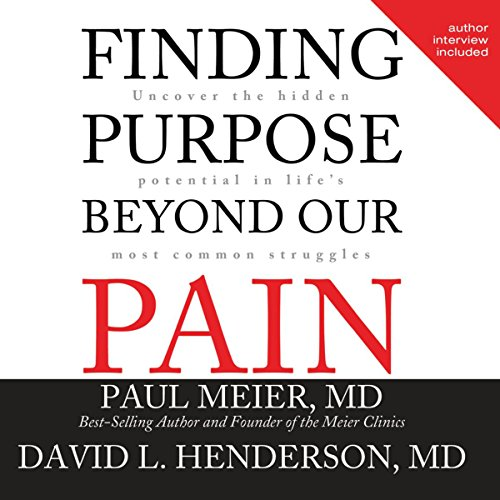 Finding Purpose Beyond Our Pain audiobook cover art