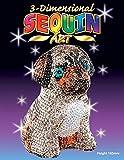 MAMMUT 8101702 - 3D Sequin Art Paillettenfigur Mops, Hund, Steckform, Bastelset mit Styropor-Figur, Pailletten, Steckstiften, Perlen und Anleitung, für Kinder ab 8 Jahre