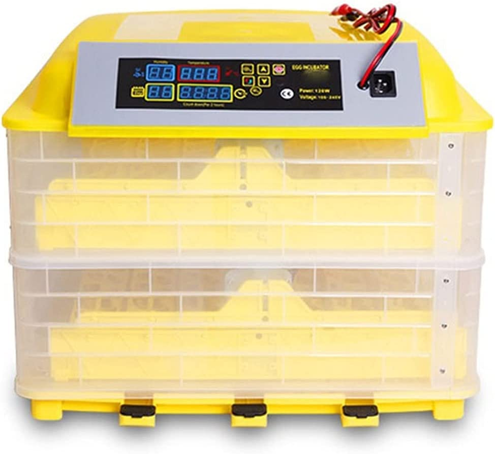 HUACHEN-LS Automatic Egg Incubator Finally popular brand 112 Max 77% OFF Incubators Ch Power Dual