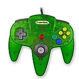 Childhood Retro Classic USB Controller Gamepad Joysticks für N64 Style PC MAC klar Dschungel Grün -