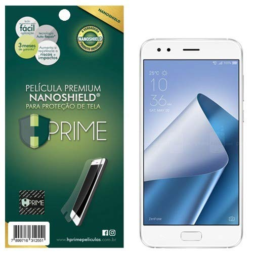 Pelicula HPrime NanoShield Fosca para Asus Zenfone 4 ZE554KL, Hprime, Película Protetora de Tela para Celular, Transparente