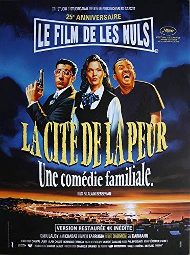affiche cinéma Originale Grand Format - La Cité De La Peur (Format 120 x 160 cm pliée) Réédition 2019