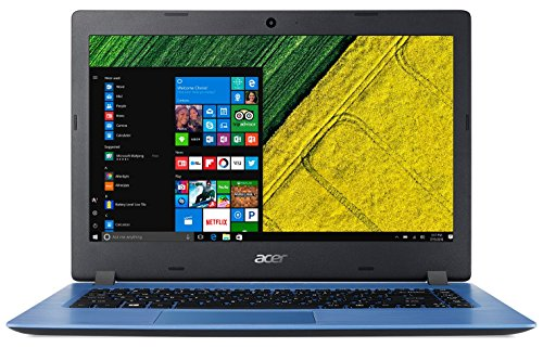 "Acer Aspire A114-31-C50S - Ordenador portátil de 14"" HD (Intel Celeron N3350, 4 GB RAM, 32 GB eMMc, Intel HD 500, Windows 10 S) Azul - Teclado QWERTY Español"
