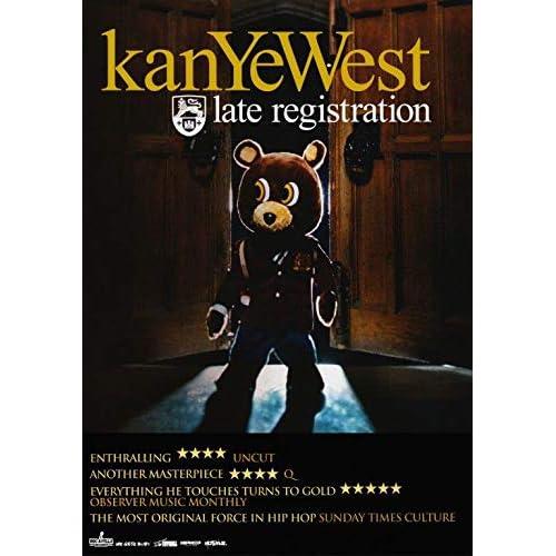 ebbfd49ffeff KANYE WEST Late Registration PHOTO Print POSTER Yeezy Boost 350 Yeezus Jay  Z 013 A3