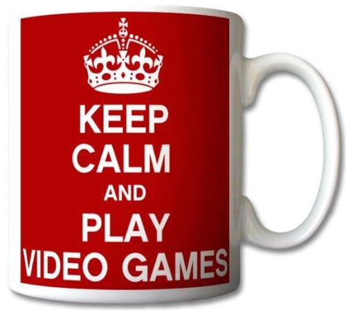 Keep Calm and Play Video Games Mug