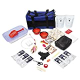 Emergency Zone Cat Deluxe Bug Out Emergency Survival Kit. Prepare Your Cat for Hurricanes,...