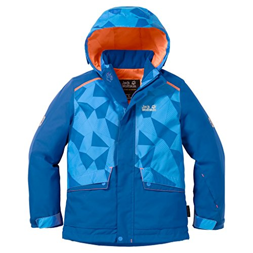 Jack Wolfskin SNOW RIDE JACKET KIDS Skijacke - glacier blue - 164