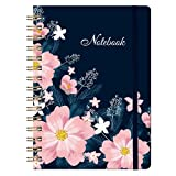 Ruled Journal/Notebook - Lined Journal with Hardcover, 8.35' x 6.3', College Ruled Journal, Inner Pocket, Strong Twin-Wire Binding with Premium Paper, Perfect for School, Home & Office