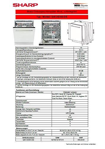 Sharp QW-HD44I-DE