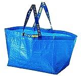 Ikea - juego de 2 Frakta azul - bolsa grande Ideal para la c