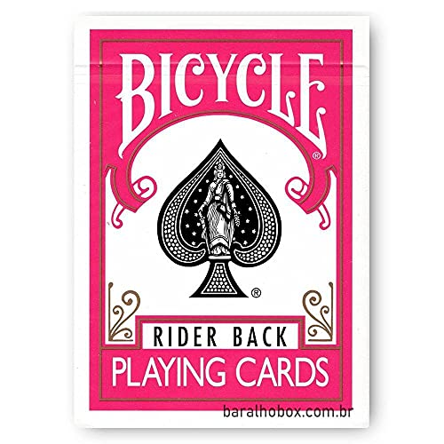Bicycle Fuchsia (Pink) Playing Cards