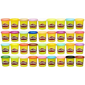 Play-Doh Modeling Compound 36 Pack Case of Colors Non-Toxic Assorted Colors 3 Oz Cans  Amazon Exclusive