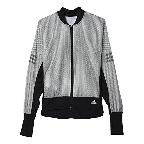 adidas Damen Sweatshirt AZ CP Jacket W, Schwarz, S, 4056561284232