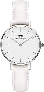 Daniel Wellington Dress Watch Analog Display Japanese Quartz Movement For Women Dw00100250, White Band