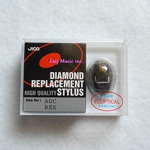 JICO レコード針 ADC RSX用交換針 ダエン針 240-RSX(E)