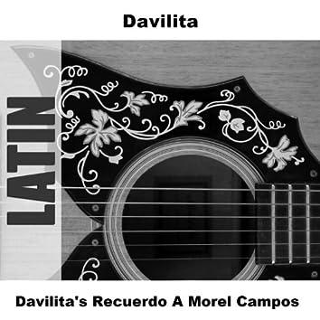 Davilita's Recuerdo A Morel Campos